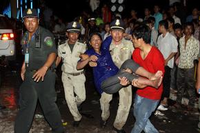 "Christian Science Monitor: ""Cambodia Water Festival turns tragic with deadly stampede"""