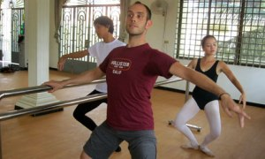 Cambodia ballet school Stephen Bimson