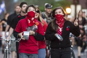 "Global Post: ""Quebec bangs pots and pans in growing protests"""