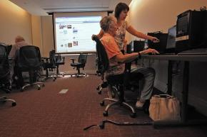 "Boston Globe: ""Learning Facebook in retirement age"""
