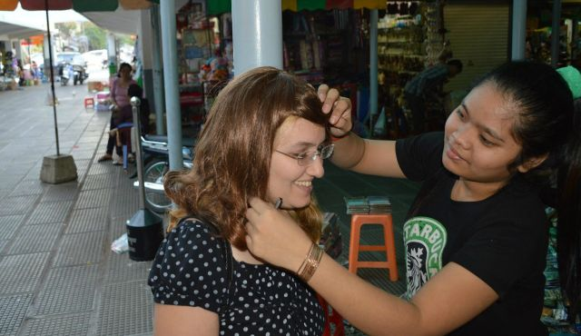 Haaretz Bigwigs How Cambodia Became The Hair Apparent For