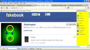 """Science magazine: """"Better networking through chemistry onFakebook"""""""