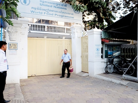 The World Food Program's office in Cambodia is sending two staff members to Liberia to fight the Ebola outbreak. (Photo: Jonathan Pannetier)