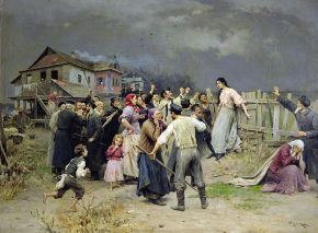 "The Forward: ""Does Famed 1899 Painting Debunk 'Fiddler on the Roof' Myth on Intermarriage?"""